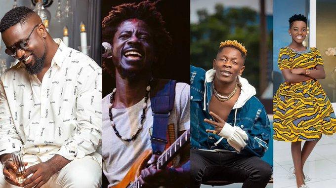 Sarkodie, Shatta Wale, Kwame Yeboah, DJ Switch win awards at 2021 IRAWMA