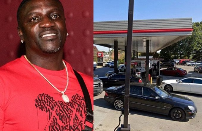 Akon's Range Rover stolen while he was pumping fuel into his vehicle