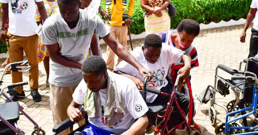 May 9 Stadium Disaster- Persons With Disabilities Join In 20th Anniversary