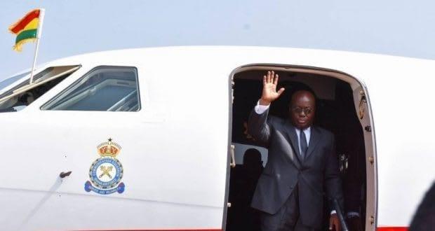 Akufo-Addo leaves for Burkina Faso