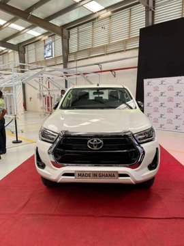Akufo-Addo launches Toyota vehicle assembly plant in Ghana