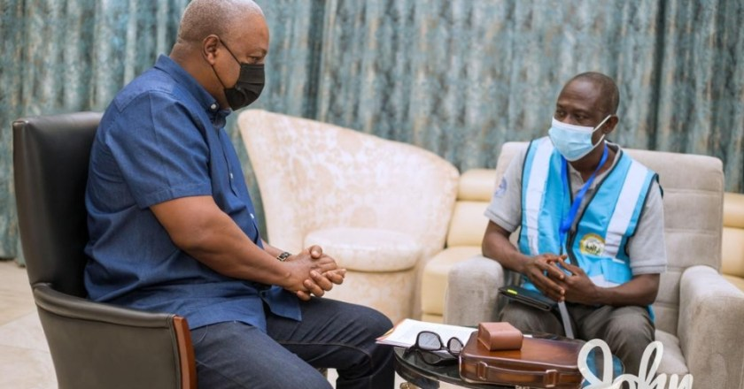 John Mahama encourages Ghanaians to get themselves counted