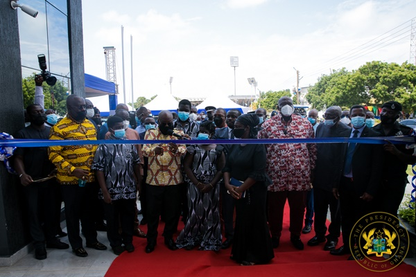 President Akufo-Addo commissions National Security building, launches National Security strategy