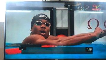 Abeiku Jackson misses out on semis despite winning Heat 2 of 100m swimming