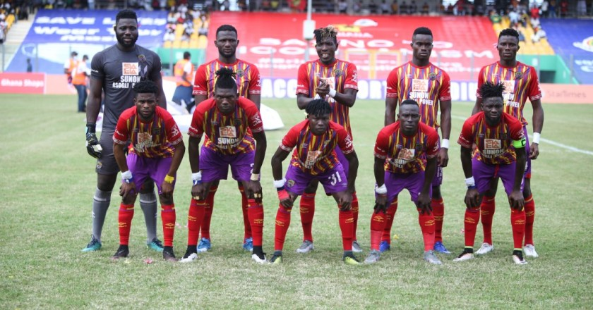 CAF officially validates Hearts of Oak's engagement for Champions League