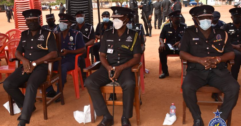 IGP Mourns with Family of the Late Sergeant Jonathan Atterh Ayertey
