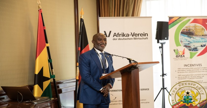 President Akufo-Addo Woo German Investors