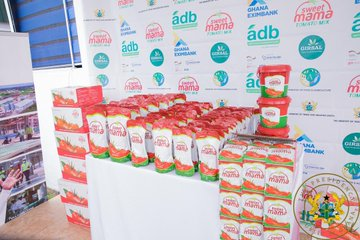 1D1F: President Akufo-Addo Commissions $16 Million Tomato Processing Factory In Domfete