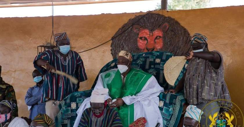 Ya-naa pledge support to President Akufo-Addo