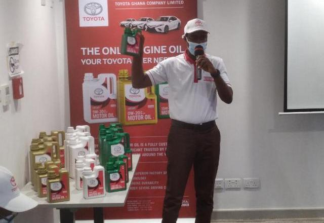 Toyota Ghana launches genuine motor oil onto the automobile market