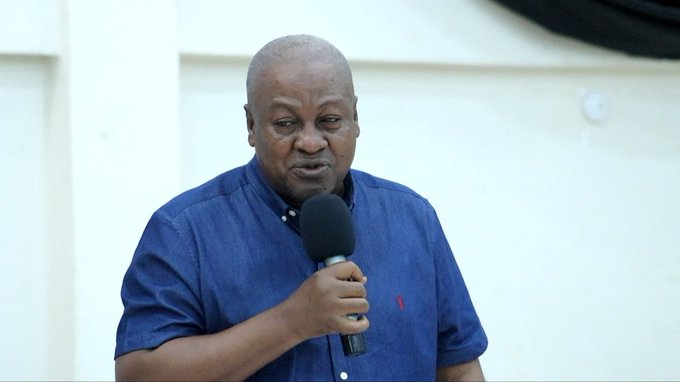 NPP can only be held accountable if voted out in 2024 – Mahama
