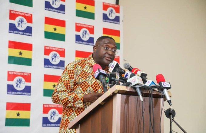 NPP slams NDC over 'falsehood' against 2020 elections