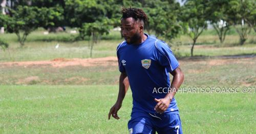 Report: Spiritual force chases Gladson Awako out of Hearts of Oak three weeks after joining club