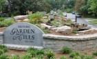 Garden Hills Roundabout sign