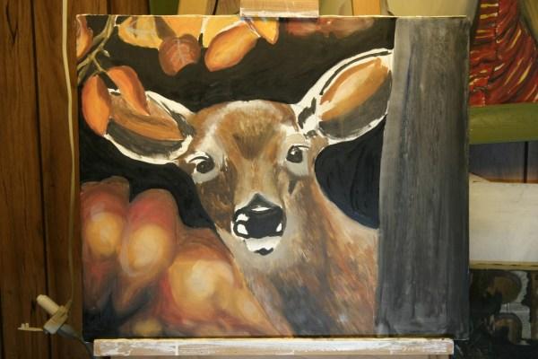 Deer Hunting Paintings
