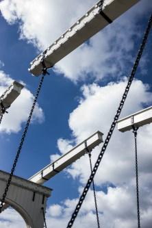 Grachtenbrückenhebemechanik