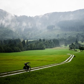 Allgäu / Chiemgau - Cyclepath in the German Alps (Bavaria)