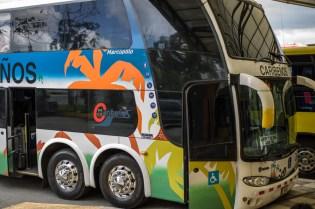 Transfer mit dem Bus nach Puerto Limon