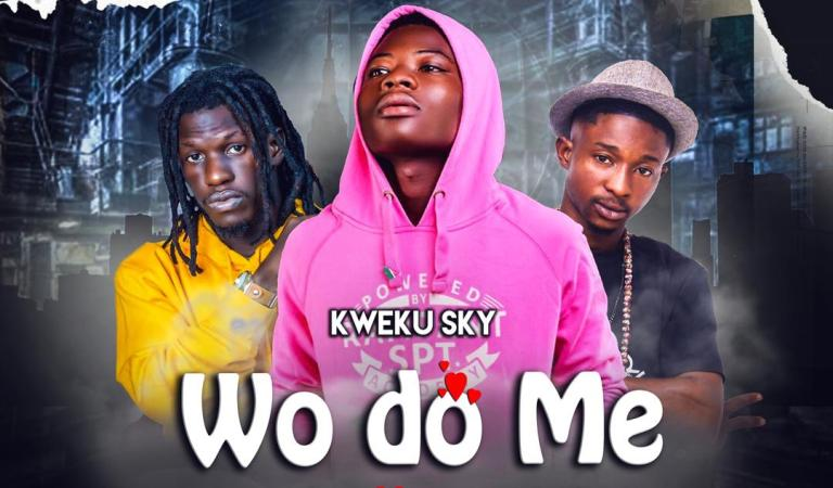Kweku Sky – Wodo Me ft. King Paluta x Lucky  (Prod By Joe kole Beat)