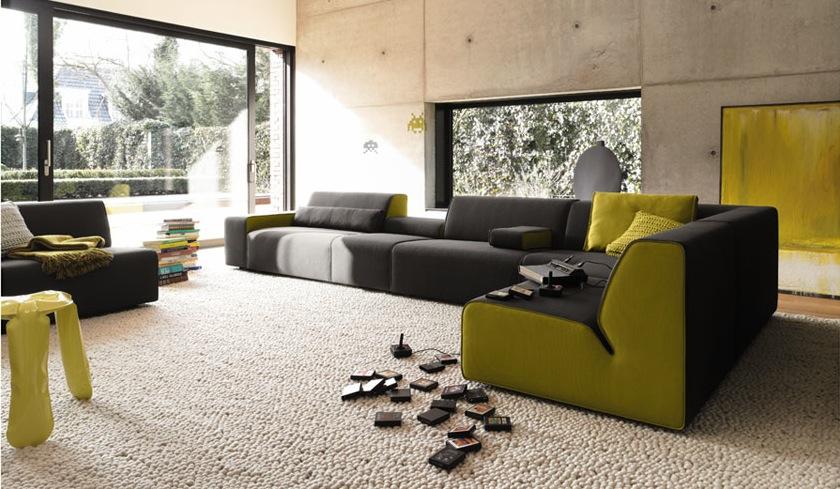 Dark Green Living Room Furniture