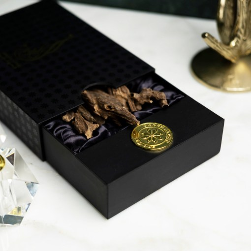 assam Indian oud incense box