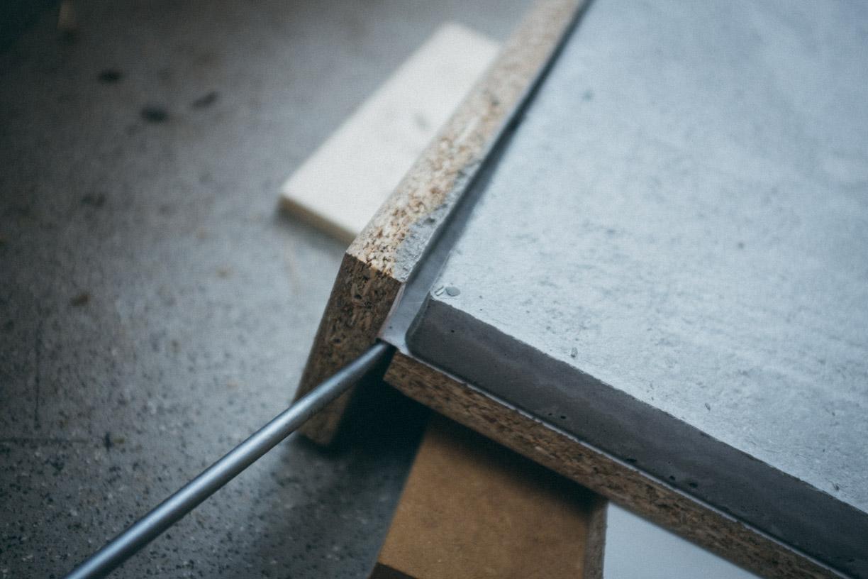 holz beton mischung mauer in steinoptik beton mischen. Black Bedroom Furniture Sets. Home Design Ideas