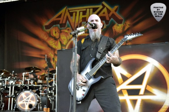 Scott Ian of Anthrax, shot by Echoes In The Well