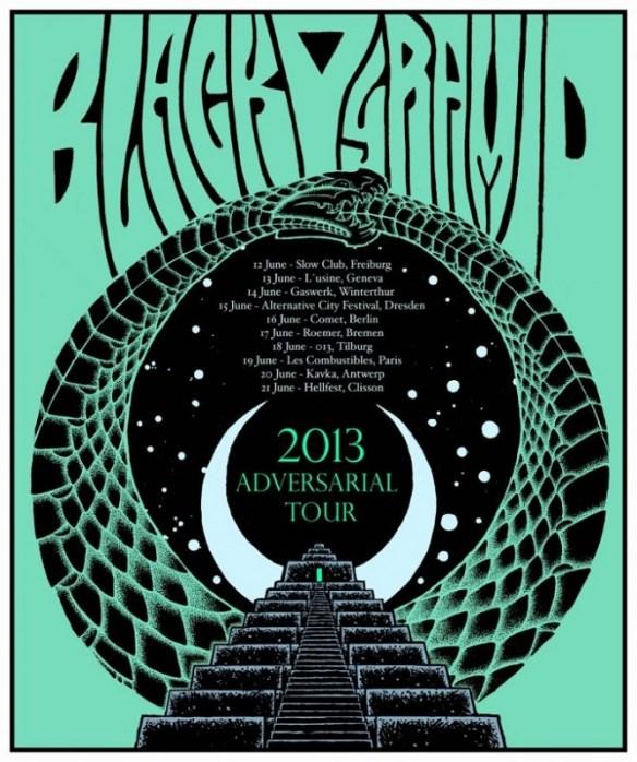 Black Pyramid European Tour 2013