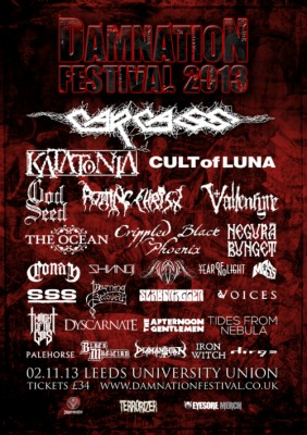 damnationfest 2013 flyer