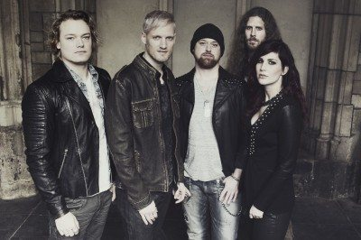 Delain band USE first in interview
