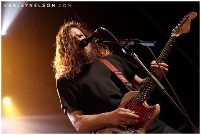 Guitarist Bryan Giles of Red Fang. Photo Credit: Kaley Nelson
