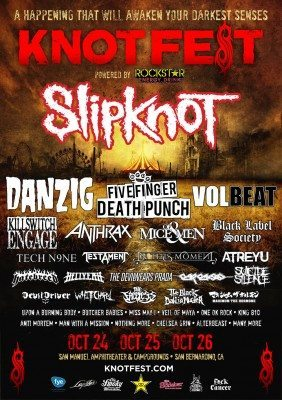 knotfest poster 2014
