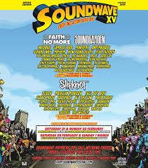 soundwave xv poster