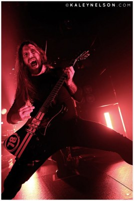 Niklas Engelin of In Flames. Photo By Kaley Nelson