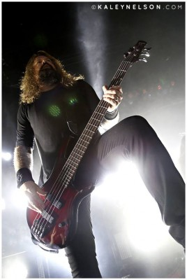 Peter Iwers of In Flames. Photo By Kaley Nelson