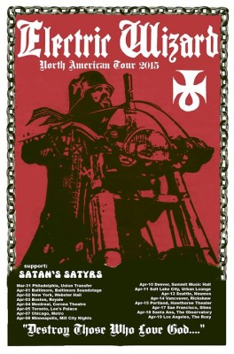 electric wizard us tour