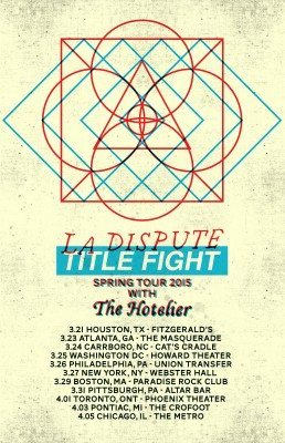 la dispute title fight tour