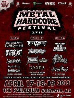 new england metal and hardcore fest xvii first wave