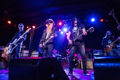 Duff McKagan, Billy Gibbons and Slash at ADOPT THE ARTS. Photos  Credit: Tiffany Rose.