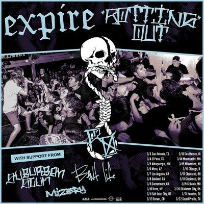 expire rotting out tour