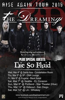 the dreaming march 2015