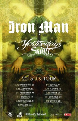 iron man yesterdays saints north american tour
