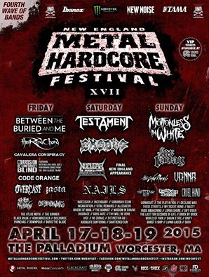 new england metal and hardcore fest 4th wave