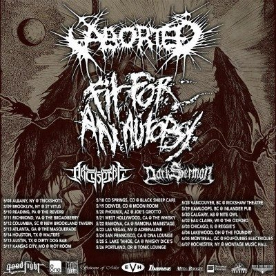 aborted fit for an autopsy north american tour