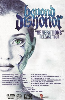 beyond dishonor generations release tour