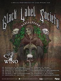 black label scoiety wino tour