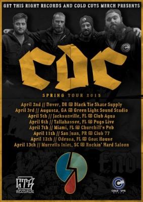 cdc spring tour 2015