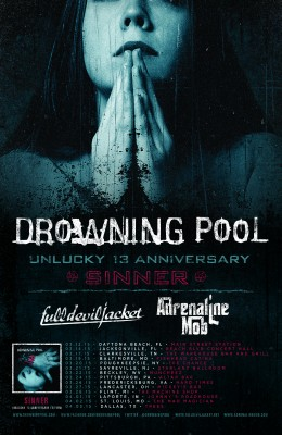 drowning pool unlucky 13 anniversary
