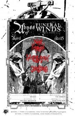 encoffination abyss of funeral winds tour