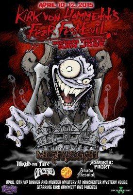 fear fest evil 2015 san jose poster